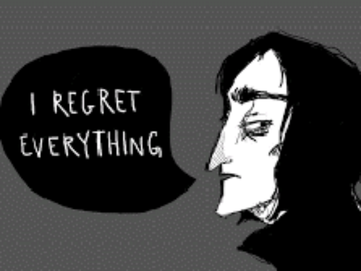 Do you regret being an extremist?