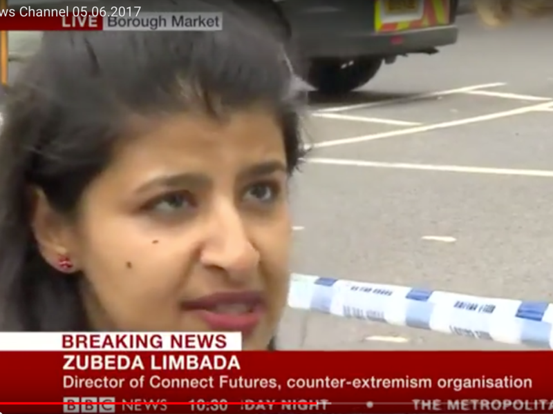 Zubeda Limbada, 'Building Trust with Communities' BBC News Channel 05.06.2017