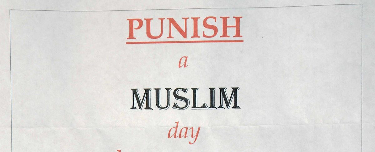 """Practical advice for schools and colleges to address the """"Punish A Muslim"""" letter"""